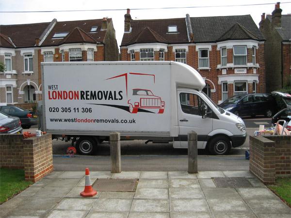 West London Removals Van Fleet