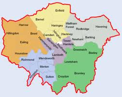 West London Removals coverage map is shown here.