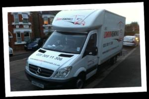 West London Removals Van